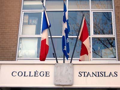 Fronton Collège Stanislas de montréal